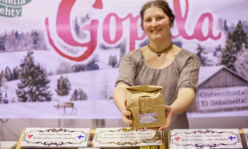 Hunaja ja toffee Gopala verkkokauppa