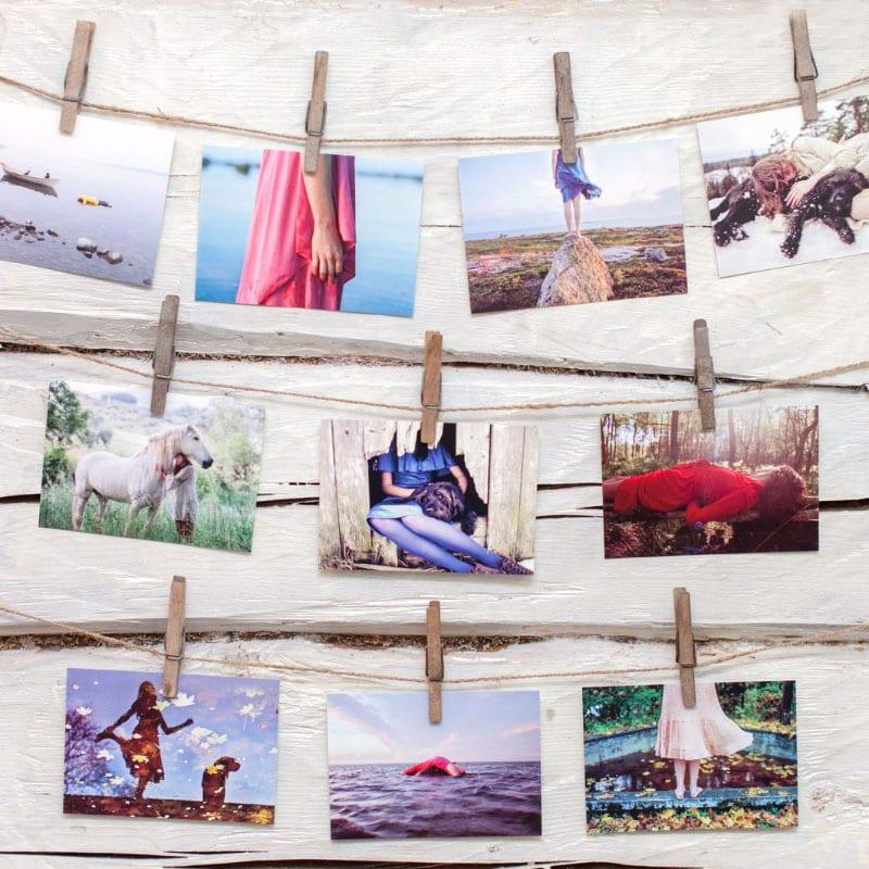taidekortti postikortti valokuvaaja minna kulmala